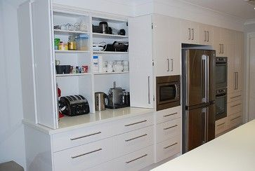 Appliance Cupboard Kitchen Design Ideas, Pictures, Remodel and Decor