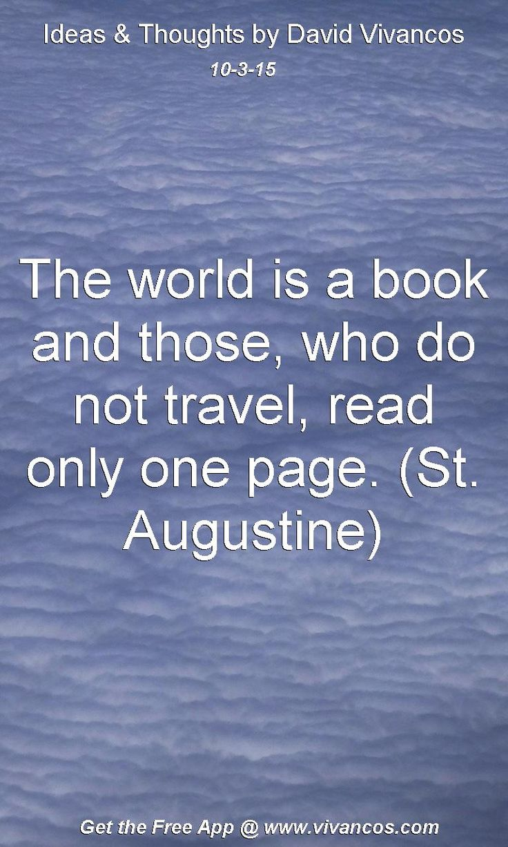 Don t travel read only one page st augustine rovinj croatia - The World Is A Book And Those Who Do Not Travel Read Only One Page St
