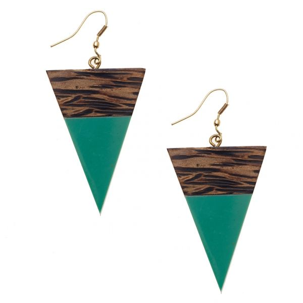 Egun Wooden Earrings