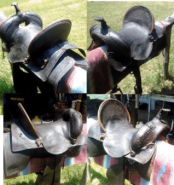Vintage Old West Boots & Saddles & Relics