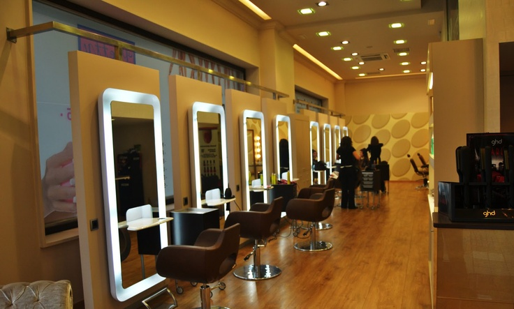 Partial view of One of our Salons in Vigo, Spain