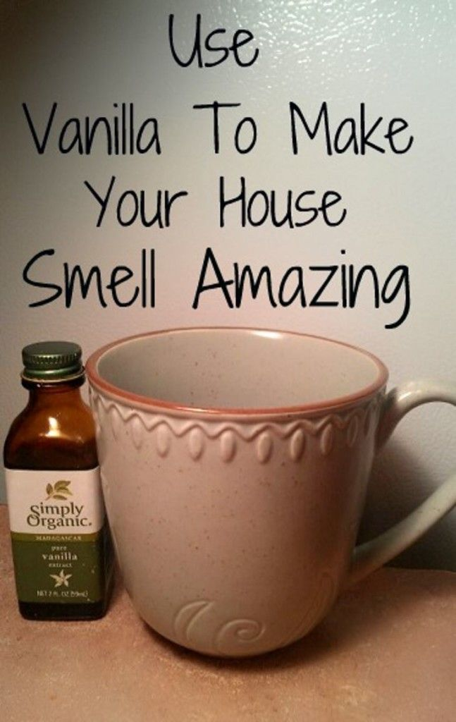 This handy tip will leave your house smelling amazing! Simply bake 2 teaspoons of vanilla extract for one hour at 300 degrees and enjoy the delicious results.