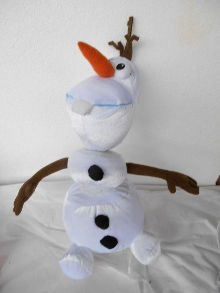 Disney Frozen Talking Olaf Pull A Part Plush Jokes Sounds Kids Snowman Toy Movie #Disney