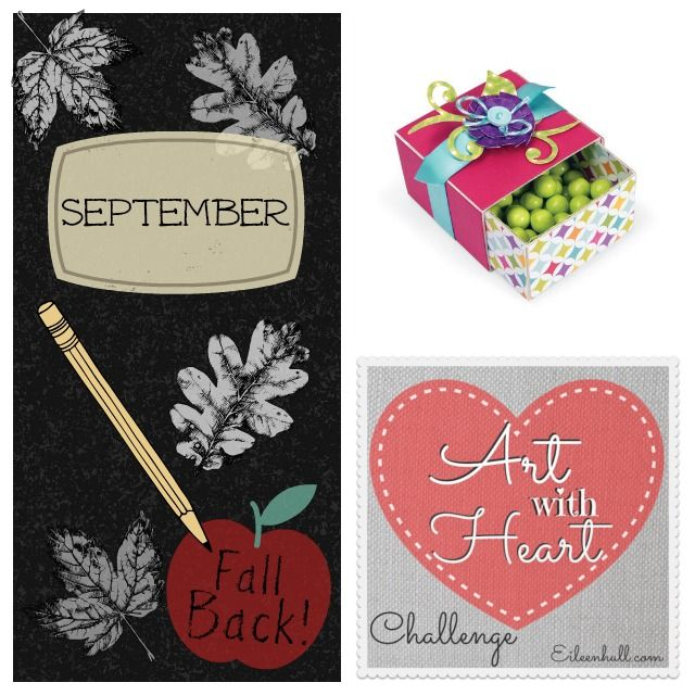 "Art with Heart Challenge September ""Fall Back"""