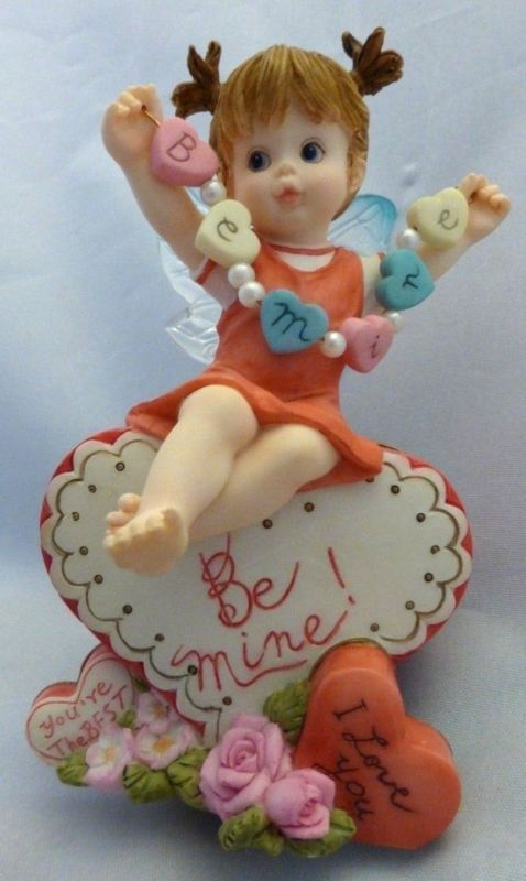 Superieur My Little Kitchen Fairies 2004 HEARTS ON A STRING FAIRIE Valentine Enesco    Http:/