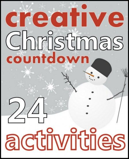 Come and enjoy your very own Virtual Advent Calendar. Brought to you by 24 lovely kid bloggers via www.redtedart.com and www.creativewithkids.com