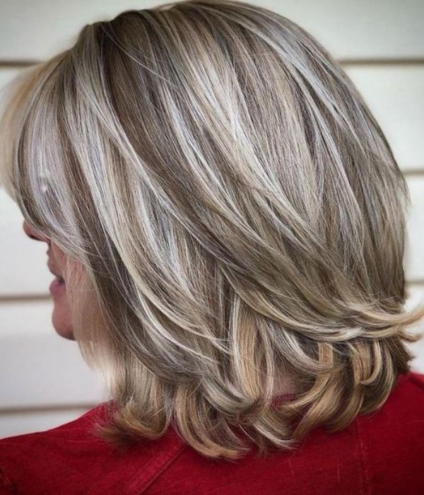 67 Inspiring Hairstyles For Women Over 50 2021 Grey Hair Styles For Women Hair Styles Medium Hair Styles