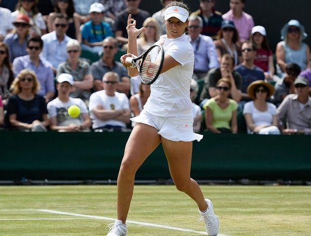 laura robson tenis wimbledon (Foto: Getty Images)