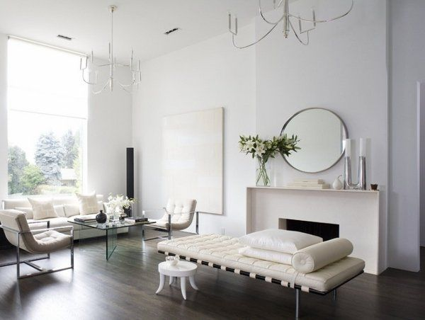 minimalist home designs 2015 minimalist living room interior white furniture sofa daybed