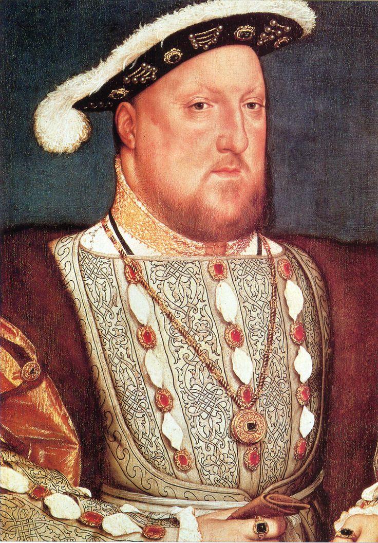 Портрет короля Генриха VIII. 1536 г. Ганс Гольбейн Младший