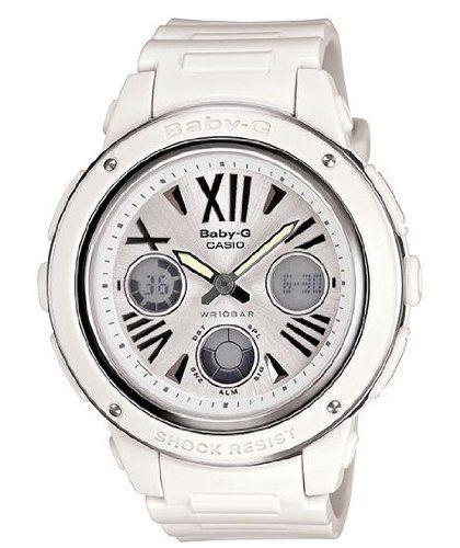 Casio Women's BGA152-7B1 Baby-G Baby-G Shock White Analog Watch http://suliaszone.com/casio-womens-bga152-7b1-baby-g-baby-g-shock-white-analog-watch/