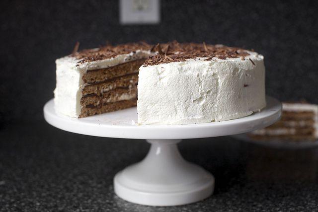 chocolate hazelnut macaroon torte | smittenkitchen.com