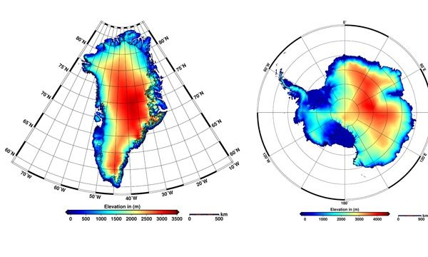 New satellite maps show polar ice caps melting at 'unprecedented rate'
