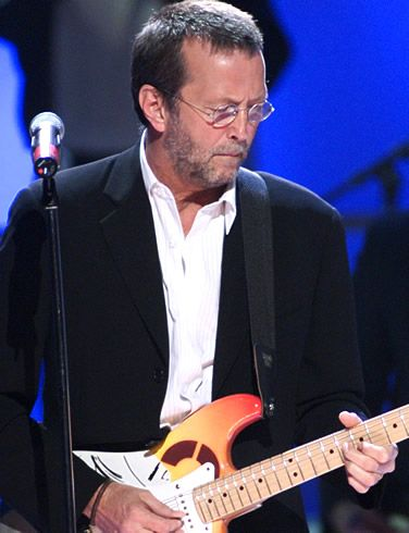 Eric Clapton, his sound cannot be duplicated...I recognize his guitar anywhere! (Santana too...)