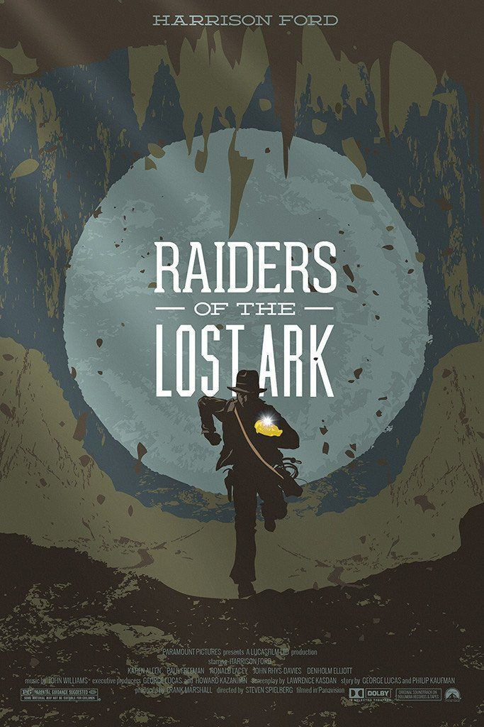 Raiders Of The Lost Ark Movie Fan Art Poster With Images Movie Posters Minimalist Movie Poster Art Alternative Movie Posters