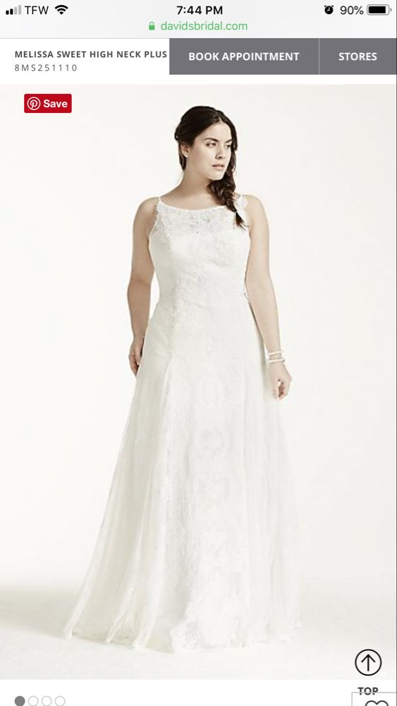 eb9e0c6a11c Pin by Tiffany Earhart on Wedding dress ideas in 2019