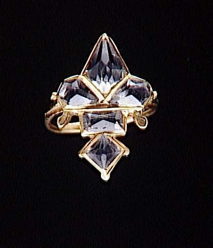 16th Century Ring in the shape of the fleur-de-lys