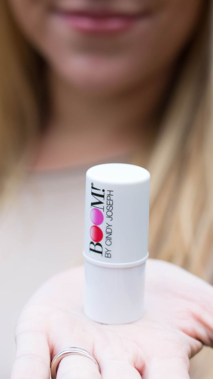 The best lip moisturizer with the prettiest hint of color! Perfect for a natural but gorgeous lip! All organic, natural, & cruelty free too - these Boom by Cindy Joseph Boomsticks are the real deal!