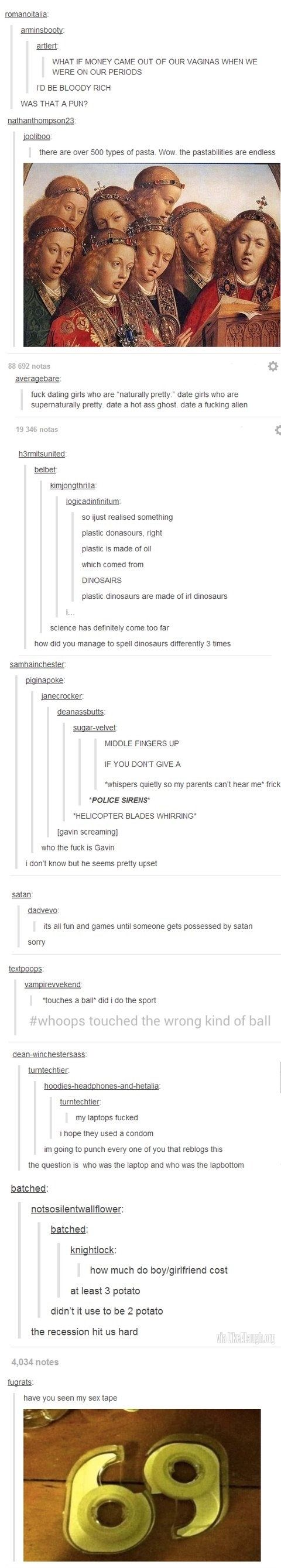 I always repin tumblr silliness