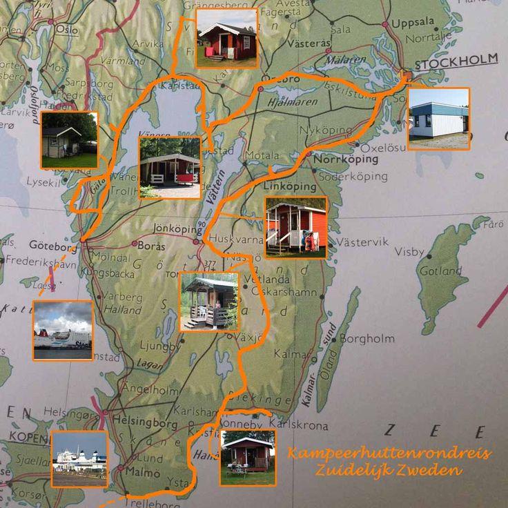 Rondreis Zuid-Zweden: de route, bezienswaardigheden en de kosten van de reis en overnachtingen.