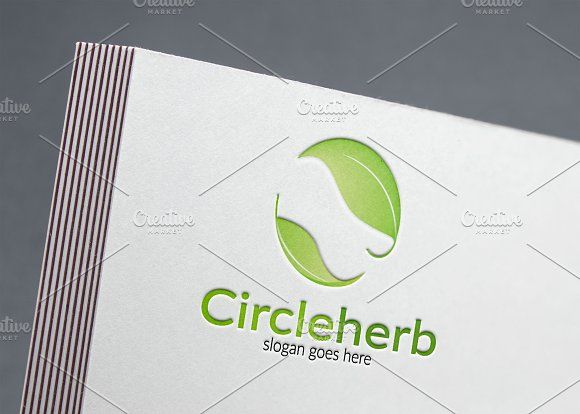 Leaf Logo by Aghadhia on @creativemarket