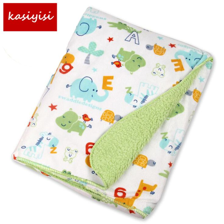 Free Shipping  Baby Blanket Super Soft Bedding Factory Sales baby swaddle bedding set cobertor 76*102CM #Affiliate