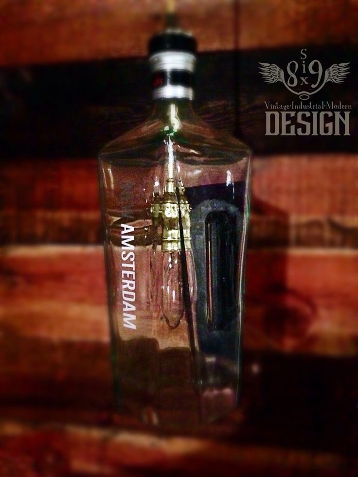 New Amsterdam Gin pendant light by 869Design on Etsy https://www.etsy.com/listing/238094870/new-amsterdam-gin-pendant-light