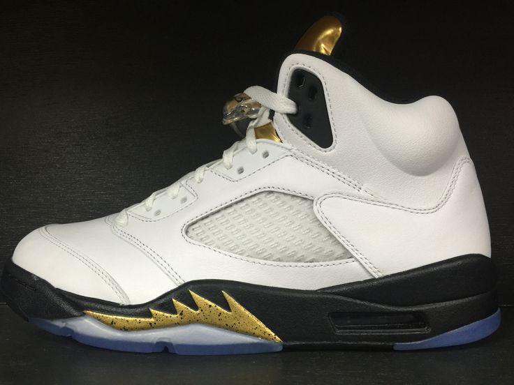 Air Jordan 5 Retro 'Olympic' 'Gold'