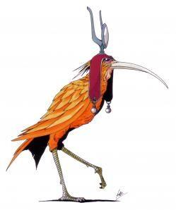 Bennu era un ave mitológica del Antiguo Egipto, el Fénix griego. Fue asociado a las crecidas del Nilo, a la muerte, y al Sol. Como el Bennu representaba la creación y la renovación, estaba relacionado con el calendario egipcio, de hecho, el templo de Bennu era célebre por las clepsidras y otros dispositivos para medir el tiempo que en él se custodiaban.