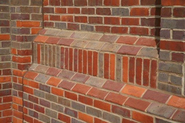 Special shape brick design