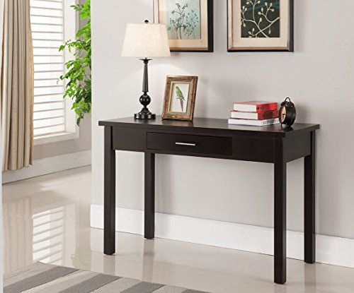 Kings Brand Furniture Wood Home & Office Parsons Desk wit...