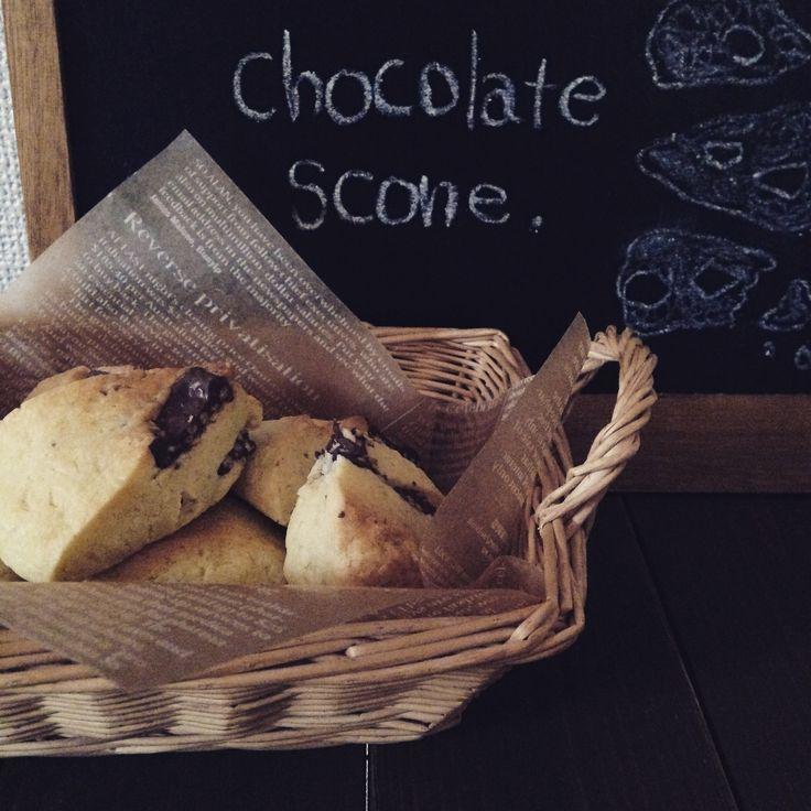 """必要なのは4つの材料。不器用でもできるプロの味""""チョコレートスコーン""""レシピ   by.S"""