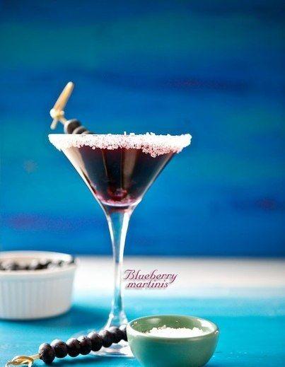 Черничный мартини