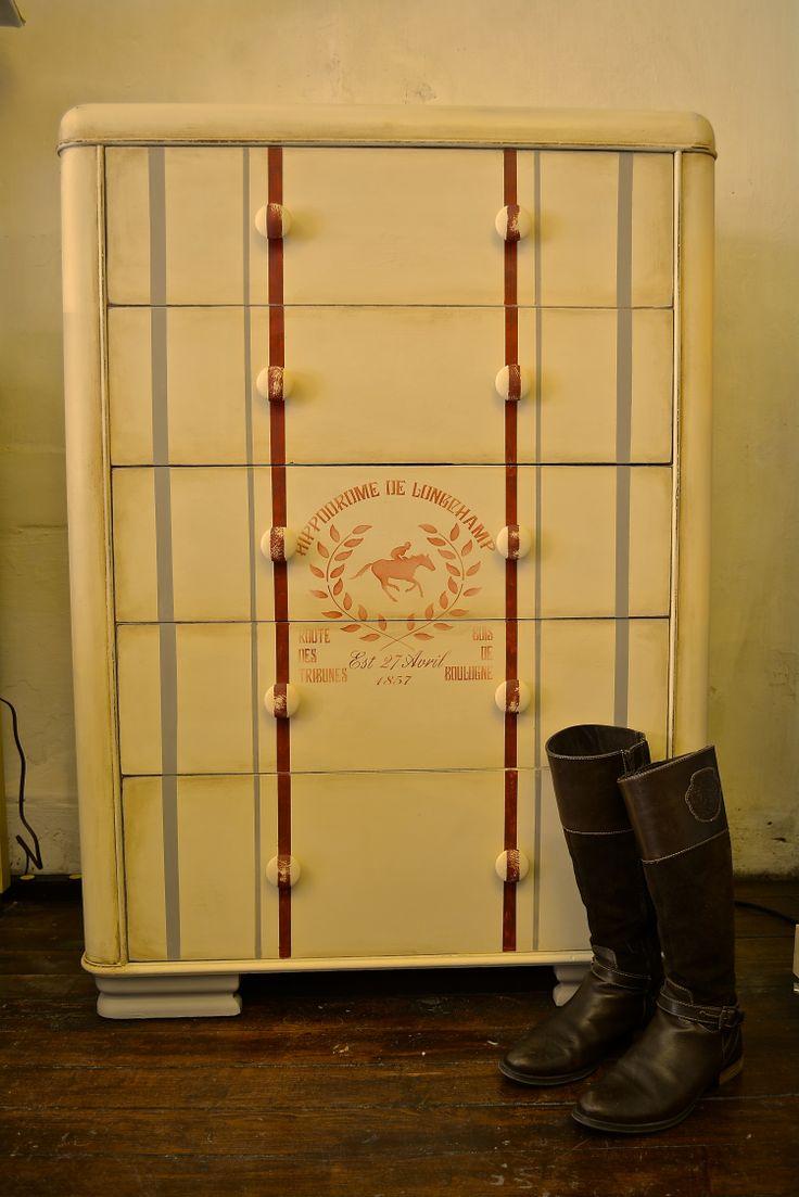 Jordan Dresser Knock Off: Waterfall Dresser Painted By Kathie Jordan Design! Chalk