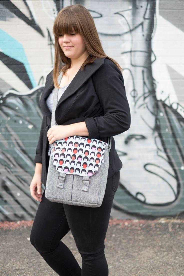Kaylee's Campfire Messenger Bag | Fancy Tiger Crafts