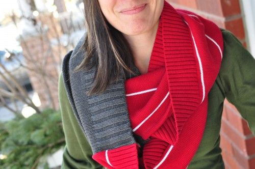 5 Simple and Easy Ways to Upcycle a Sweater ~ Successful Homemakers