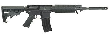 """Windham Weaponry M4A3 SRC 16"""" Rifle in stock with pop-up Magpul and EOTECH sights!"""