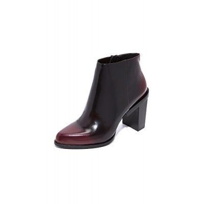 DKNY Women's Pine Pointy Ankle Booties, Oxblood, 5.5 B(M) US