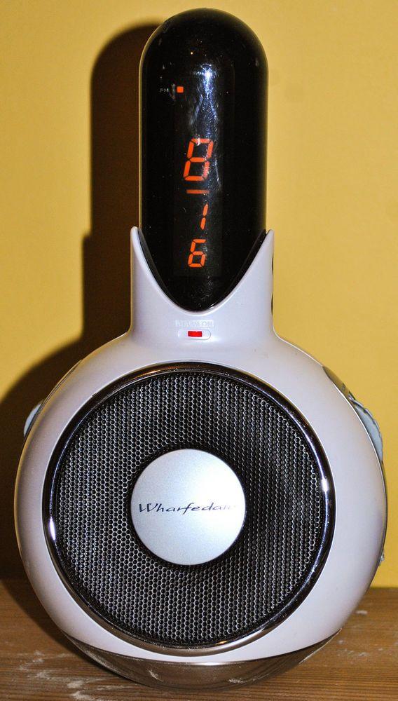 Wharfedale Vertical Digital Clock Radio Wcxm 98 In