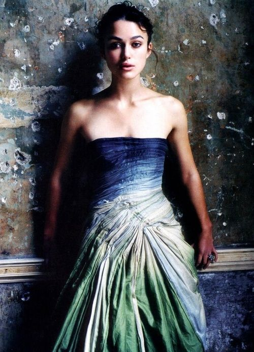 Keira Knightley - love the temperature of this portrait