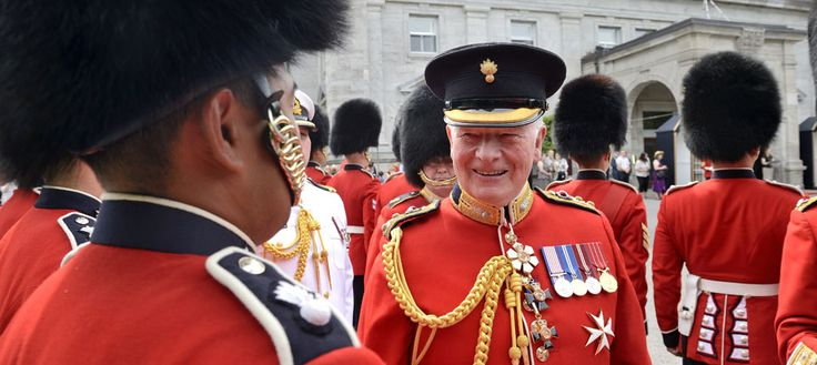 Canadian Ceremonial Guard Inspection 2015