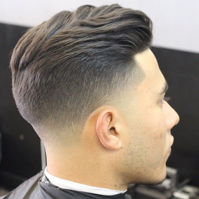 Image result for chopped taper haircut men