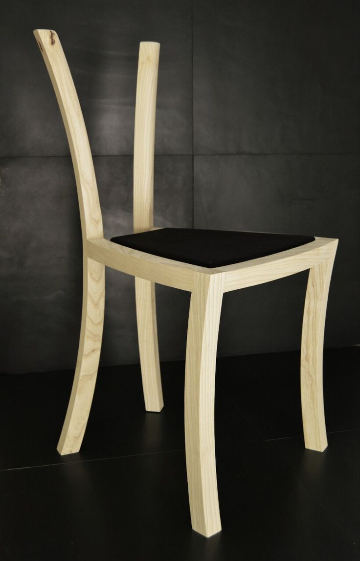 Simple plywood chair - Maia Chair Using Just One Element Shape Simple And Comfortable The Back Legs