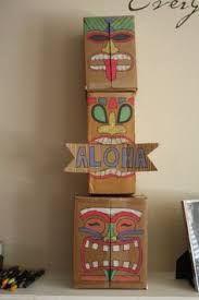 homemade luau decorations - Google Search