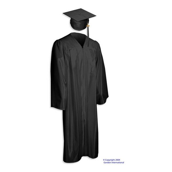 High School - Elementary Graduation Regalia > Cap, Gowns and Tassels |... ❤ liked on Polyvore featuring graduation