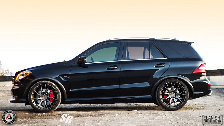 REVOZPORT Mercedes ML 63 AMG W166 body kit