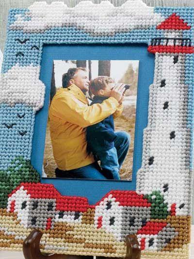 Lighthouse Photo Frame $2.49