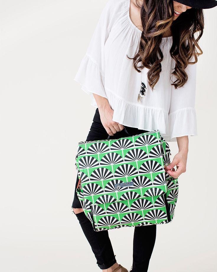 cool pattern diaper bag
