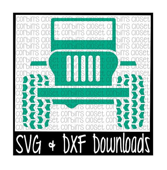 Off Road SUV Vehicle Cutting File SVG & DXF by CorbinsCloset