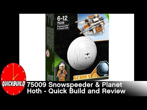 Just in: LEGO Star Wars 75009 Snowspeeder & Planet Hoth - Quick Build and Review https://youtube.com/watch?v=6QMTKXiI3j4